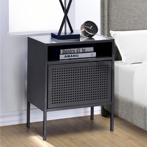 Ember Nightstand in Gray