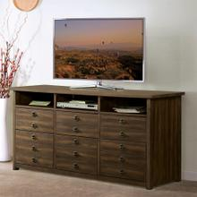 See Details - Perspectives - Entertainment File Cabinet - Brushed Acacia Finish