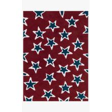 View Product - LL-06 Red / Navy Rug