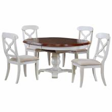 See Details - Butterfly Leaf Dining Set - Antique White (5 Piece)