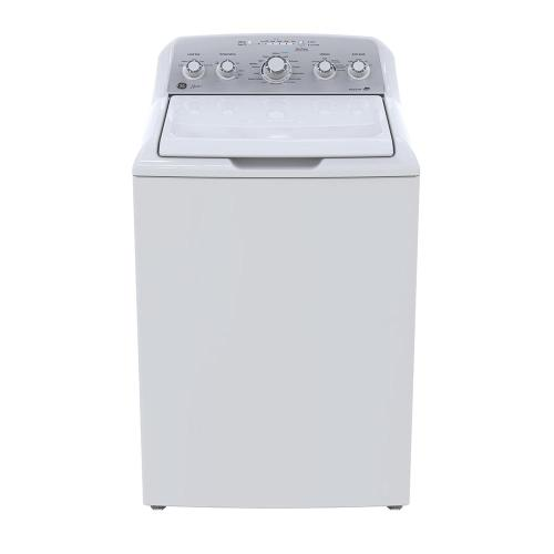 GE Allura 4.9 Cu. Ft. (IEC) Top Load Washer with Stainless Steel Basket White - GTW465BMMWS
