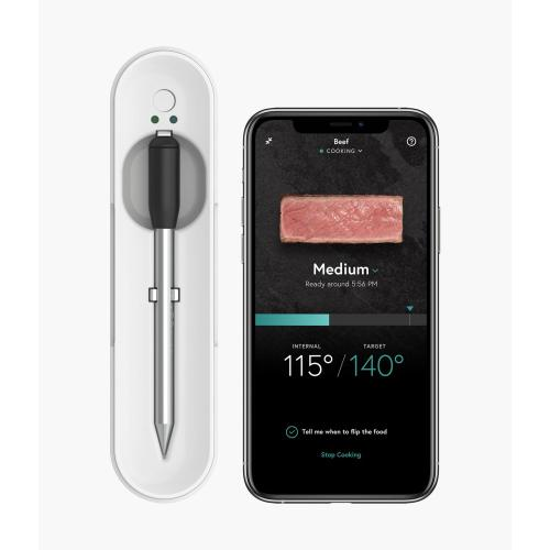 Yummly® Smart Meat Thermometer with Wireless Bluetooth Connectivity - Heritage White