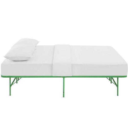 Horizon Full Stainless Steel Bed Frame in Green