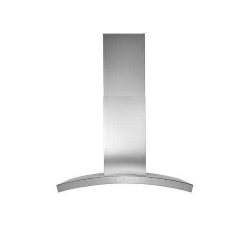 BEST Range Hoods - 36-inch 800 Max Blower CFM Stainless Steel Chimney Range Hood with glass (WC35 Series)