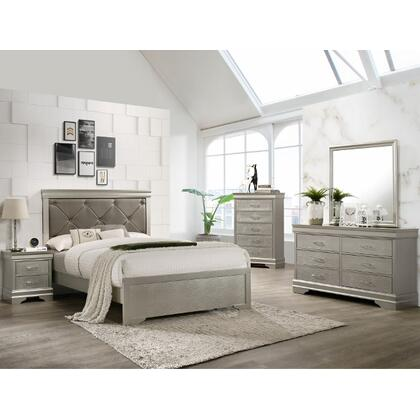 Amalia 5PC. Queen Bedroom Set