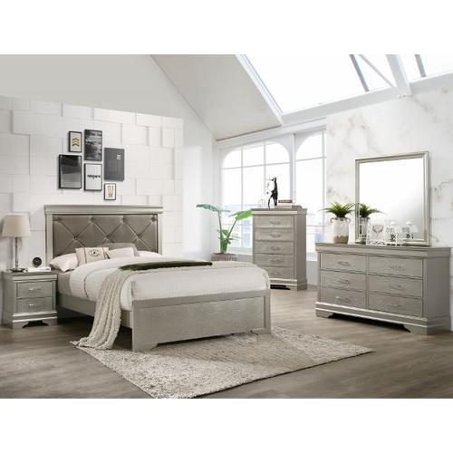 Amalia 5PC. Queen Bedroom Set
