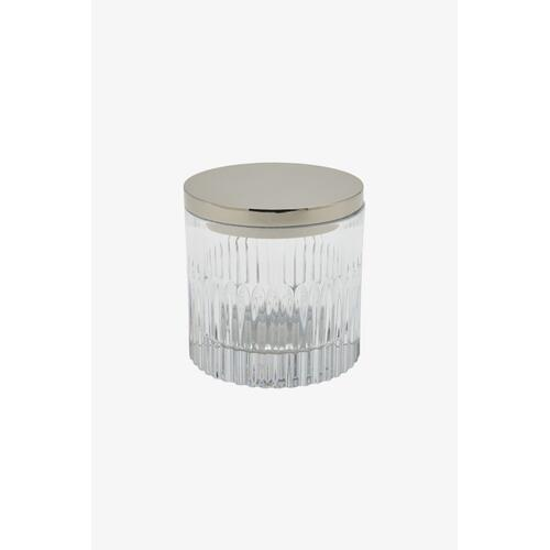 Pierre Container with Nickel Lid