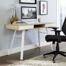 Stir Office Desk in Oak Product Image