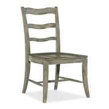 Alfresco La Riva Ladder Back Side Chair - 2 per carton/price ea