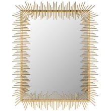 See Details - Sunray Mirror - Antique Gold