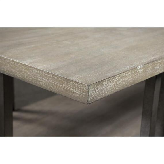 Riverside - Adelyn - Rectangular Coffee Table - Crema Gray Finish