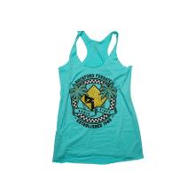 Women's Tiff Blue Tank w/ Front Graphic-L
