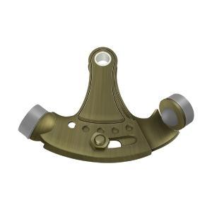 Hinge Pin Stop, Hinge Mounted, Adjustable - Antique Brass