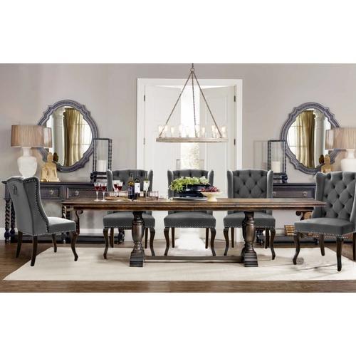 "Suri Velvet Dining Chair - 23"" W x 26"" D x 41"" H"