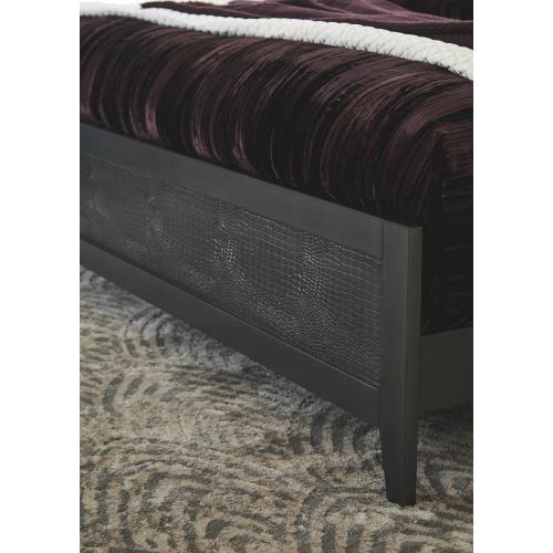 Delmar California King Upholstered Panel Bed