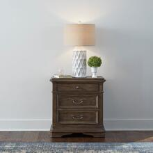 View Product - 3 Drawer Night Stand w/ Charging Station