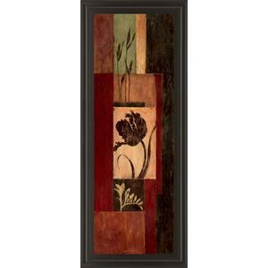 """Tulip Shadow "" By Maria Donovan Framed Print Wall Art"