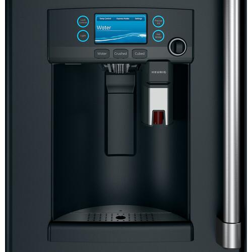 Café ENERGY STAR® 22.1 Cu. Ft. Counter-Depth French-Door Refrigerator with Keurig® K-Cup® Brewing System