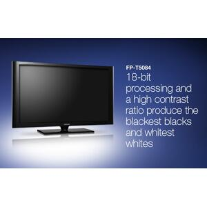 "50"" widescreen plasma HDTV"