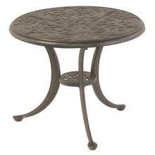 """See Details - Chateau 21"""" Round Solid Top Tea Table in Desert Bronze"""