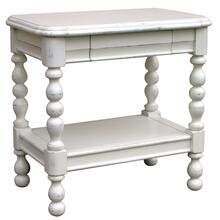 See Details - Newport Rectangle Side Table - Wht
