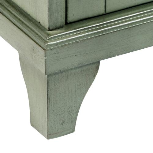 Four Door Accent Console in Sage
