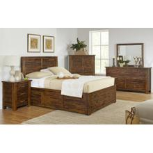 Sonoma Creek 4 Piece King Bedroom Set: Bed, Dresser, Mirror, Chest