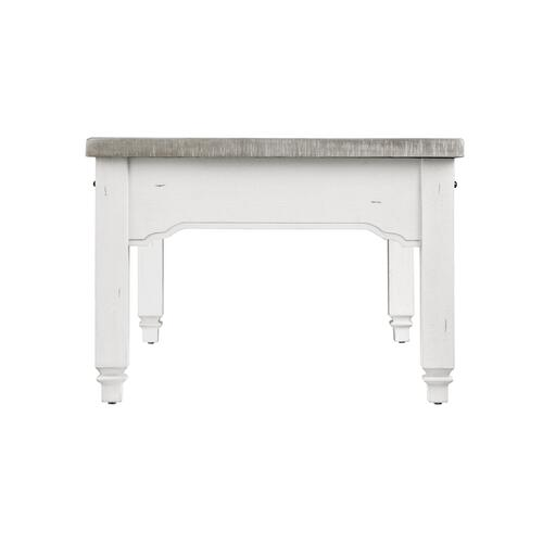 Centerville 2-drawer Coffee Table, Acorn Gray & Antique White T727-00-09