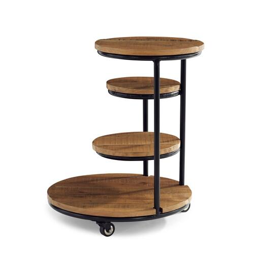 3-tiered Plant Stand, Black and Brown