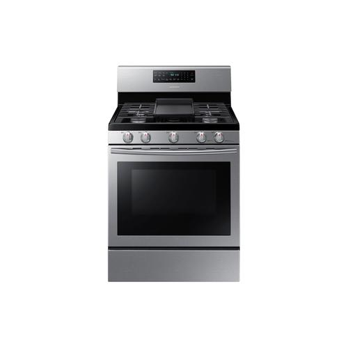 CLOSEOUT 5.8 cu. ft. Freestanding Gas Range with Convection in Stainless Steel