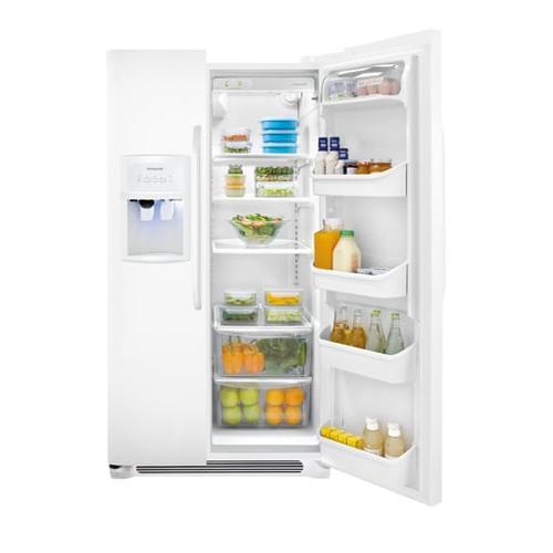 Gallery - Frigidaire 25.6 Cu. Ft. Side-by-Side Refrigerator