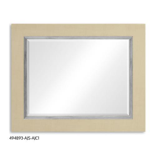 """""""Homespun"""" mirror (Camomile/Silver)"""