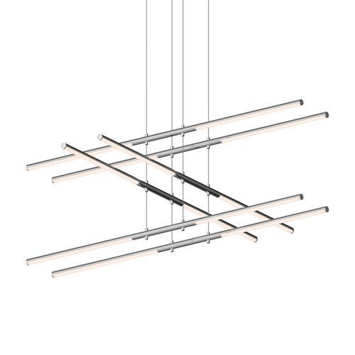 Sonneman - A Way of Light - Tik-Tak® LED Pendant [Size=Stack 3-Tier, Color/Finish=Polished Chrome]