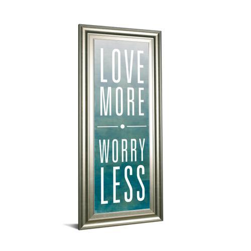 """Love"" By Sd Studios Framed Print Wall Art"
