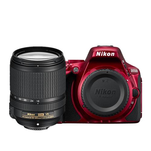 D5500 18-140mm VR Lens Kit Red