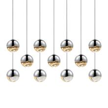 Grapes® 11-Light Rectangle Medium Pendant