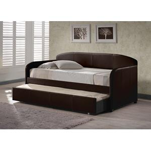 Springfield Brown Daybed With Trundle(3PC)