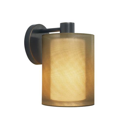 Sonneman - A Way of Light - Puri Sconce [Color/Finish=Black Brass w/Bronze Shade]