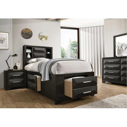 1063 Aria Full Storage Bed