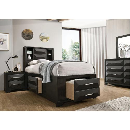 Gallery - 1063 Aria Twin Storage Bed
