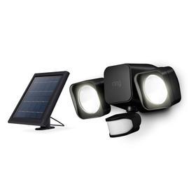 Smart Lighting Solar Floodlight - Black