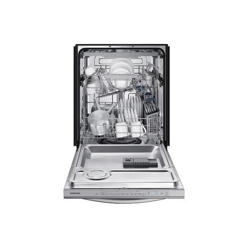 Samsung - StormWash™ 48 dBA Dishwasher in Stainless Steel