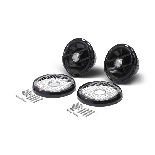 """Rockford Fosgate - Punch Marine 6.5"""" Full Range Speakers - Black"""