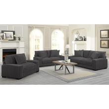 Big Chill Charcoal Sofa, Love, 1.5 Chair, U2249