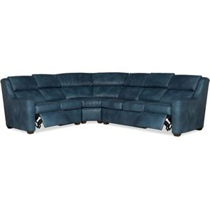 Bradington Young Loewy RAF Sofa Recline At Arm w/Articulating Headrest 941-62