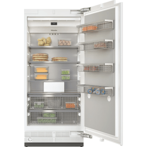 MieleF 2901 Vi - MasterCool™ freezer For high-end design and technology on a large scale.
