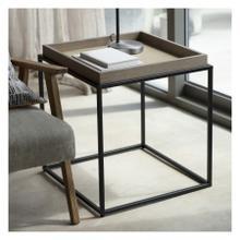 GA Forden Tray Side Table Grey