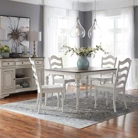 5 Piece Leg Table Set