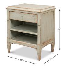 See Details - Landry Side Table, Sage