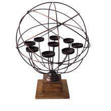 Harlow Spherical Modern Candle Holder